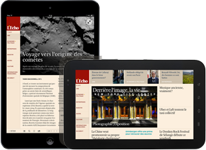 Lisez L'Echo sur tablette